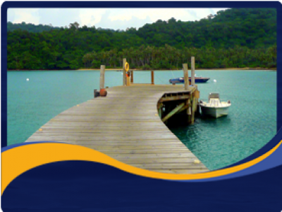 Marine Jetties, Pontoons  & Floating Docks